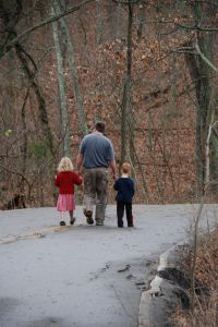 1145736_father_and_children_on_a_walk